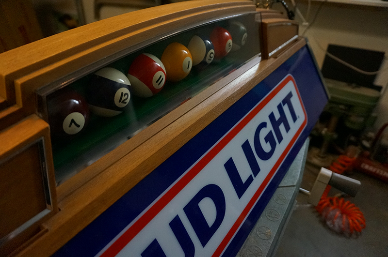 Lowrider pool table light sculpture tijuana rick art dsc01357 keyboard keysfo